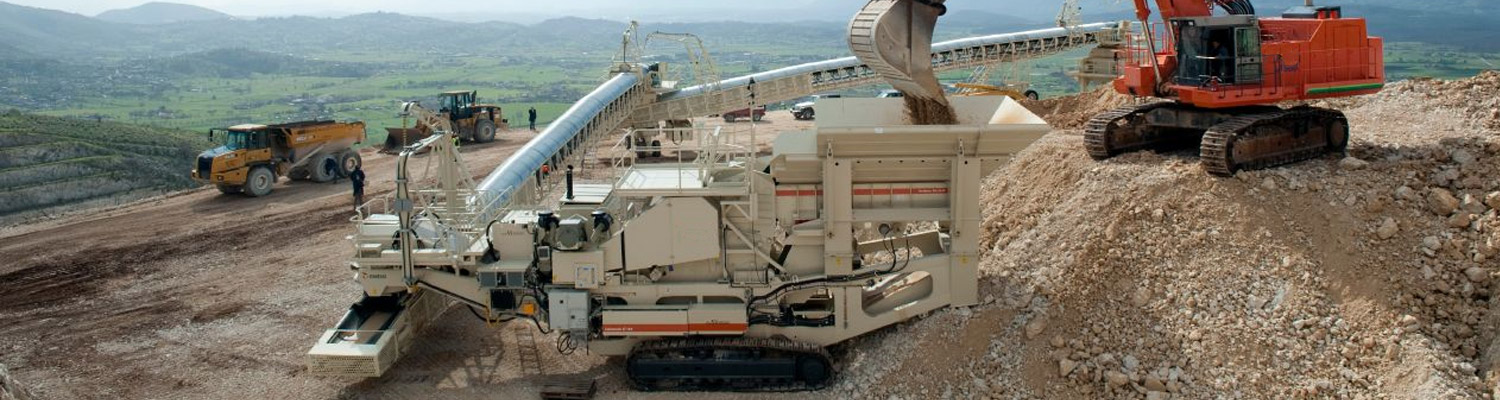 Mining, Crushing and Screening Industry